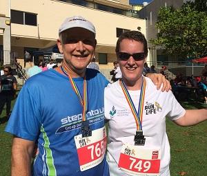 Richard my running partner