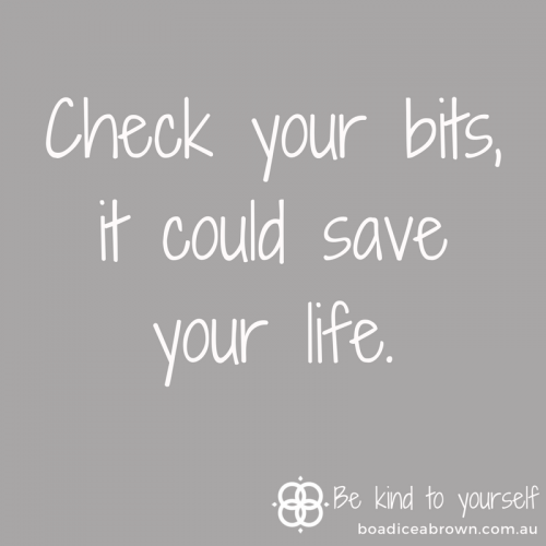 Check your bits, it could save your life