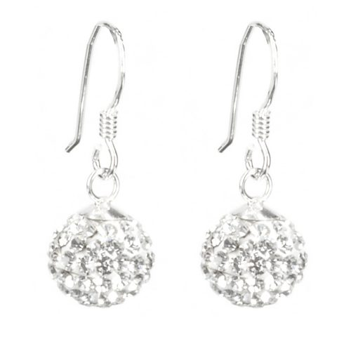 Sparkly Ball Earrings