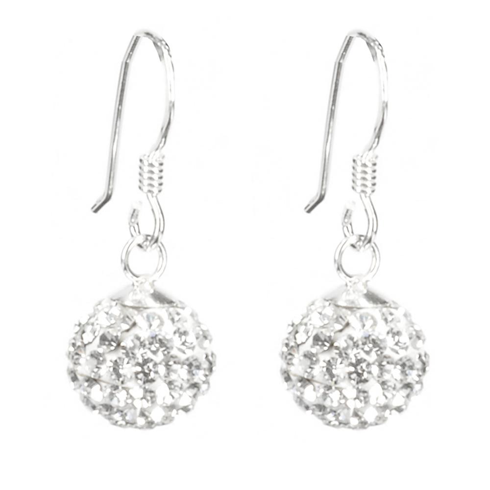 Sparkly Ball Earrings