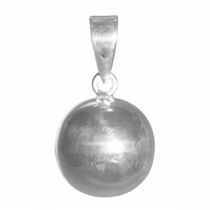 Silver Ball Pendant