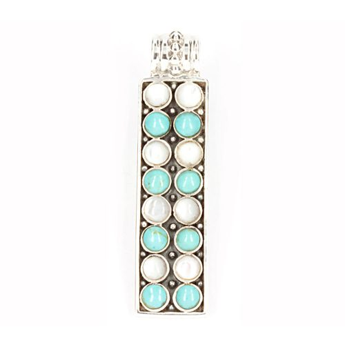 Pearl & Turquoise Pendant