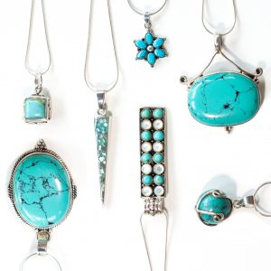 Collection of Turquoise Pendants