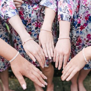 wearing jewellery